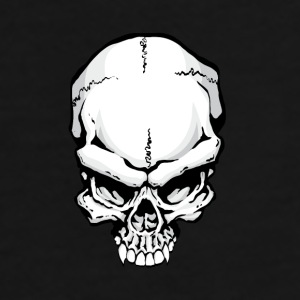 Evil Skull Mugs & Drinkware - Men's Premium T-Shirt