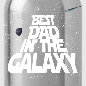 Galaxy Best Dad T-Shirts - Water Bottle