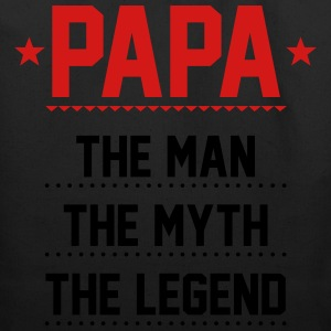 Papa T-Shirt - Papa - The Man The Myth The Legend - Eco-Friendly Cotton Tote