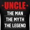 Uncle - The Man The Myth The Legend T-Shirts - Men's T-Shirt