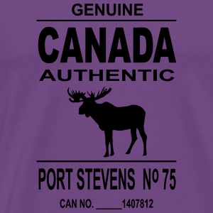Canada Moose Hoodies - Men's Premium T-Shirt