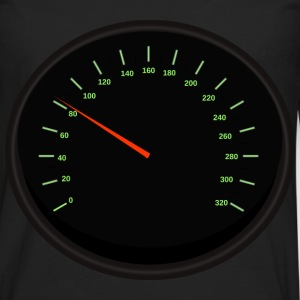 speedometer2 - Men's Premium Long Sleeve T-Shirt