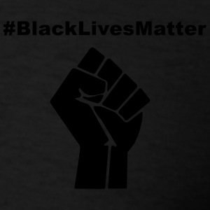 Black Lives Matter Zip Hoodies & Jackets - Men's T-Shirt