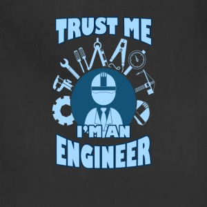 Engineer T-shirt - Trust me I'm an engineer - Adjustable Apron