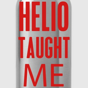 Helio Taught Me T-Shirts - Water Bottle