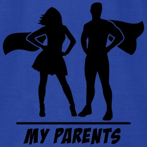 My Parents are Superheroes Tanks - Men's T-Shirt by American Apparel
