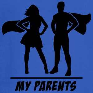 My Parents are Superheroes Tanks - Men's Long Sleeve T-Shirt