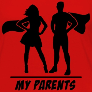 My Parents are Superheroes Tanks - Women's Premium Long Sleeve T-Shirt