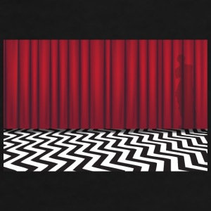 Black Lodge Mug - Men's Premium T-Shirt