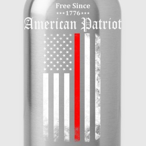 Free Since 1776 American Patriot T-Shirts - Water Bottle