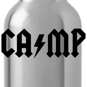 camping T-Shirts - Water Bottle