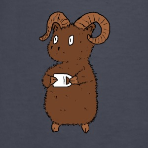 Big Horn with coffee Hoodies - Kids' Long Sleeve T-Shirt