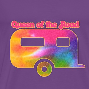 Queen of the vintage camper - Men's Premium T-Shirt