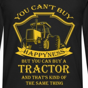 Tractor driver T-shirt - Buy a tractor - Men's Premium Long Sleeve T-Shirt