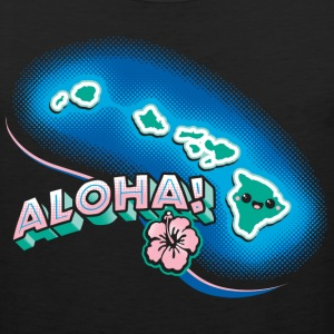 Hawaii Kawaii Cute Beach - Men's Premium Tank
