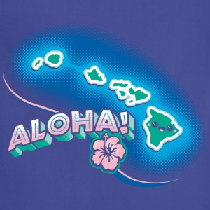Hawaii Kawaii Cute Beach - Adjustable Apron