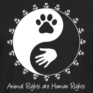 Animal rights supporter's premium T-shirt - Men's Premium Long Sleeve T-Shirt