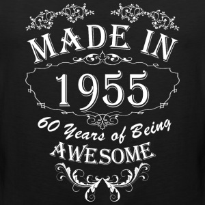 Made In 1955 60 Years Of Being Awesome - Men's Premium Tank