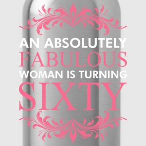 An Absolutely Fabulous Woman Is Turning Sixty - Water Bottle
