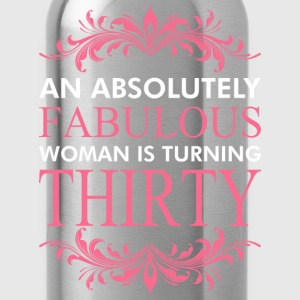 An Absolutely Fabulous Woman Is Turning Thirty - Water Bottle