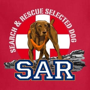 Search and Rescue Dog1 T-Shirts - Adjustable Apron