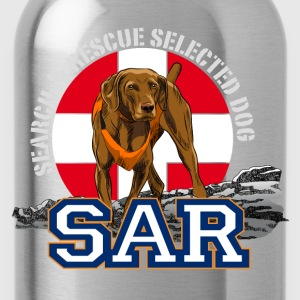 Search and Rescue Dog1 Women's T-Shirts - Water Bottle