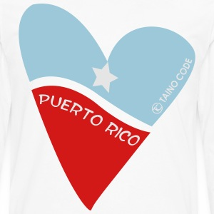 Corazón de Puerto Rico for Men - Men's Premium Long Sleeve T-Shirt