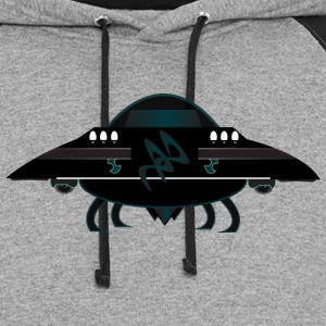 mother ship T-Shirts - Colorblock Hoodie