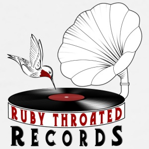 Ruby Throated Records Logo mug - Men's Premium T-Shirt