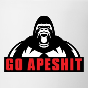 Go Apeshit - Gorilla T-Shirts - Coffee/Tea Mug