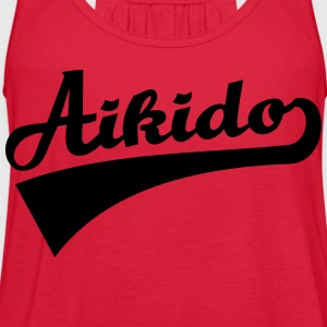 Aikido Women's T-Shirts - Women's Flowy Tank Top by Bella