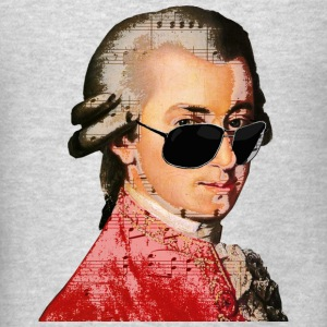 Wolfgang Amadeus Mozart Tanks - Men's T-Shirt