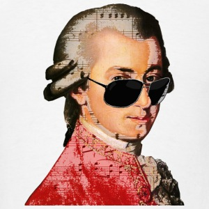 Wolfgang Amadeus Mozart Phone & Tablet Cases - Men's T-Shirt