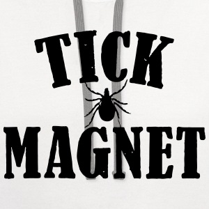 TICK MAGNET Women's T-Shirts - Contrast Hoodie