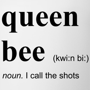 queen bee Long Sleeve Shirts - Coffee/Tea Mug