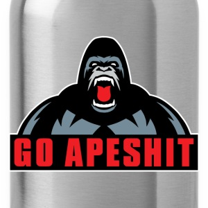 Go Apeshit - Gorilla Hoodies - Water Bottle