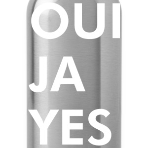 Oui Ja Yes - Water Bottle