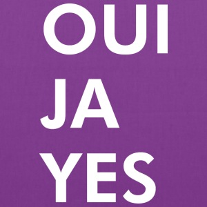 Oui Ja Yes - Tote Bag