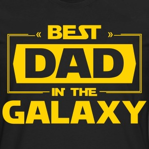 Best Dad In The Galaxy T-Shirts - Men's Premium Long Sleeve T-Shirt
