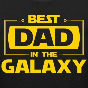 Best Dad In The Galaxy T-Shirts - Men's Premium Tank