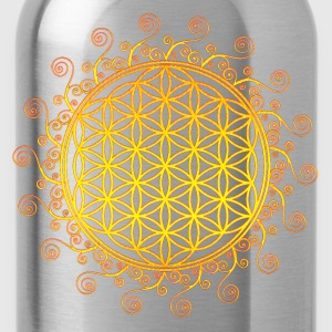 FLOWER OF LIFE, SPIRITUAL SYMBOL, SACRED GEOMETRY Women's T-Shirts - Water Bottle