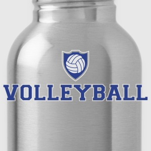Volleyball and shield Tank Tops - Water Bottle