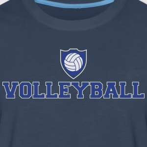 Volleyball and shield Tank Tops - Men's Premium Long Sleeve T-Shirt