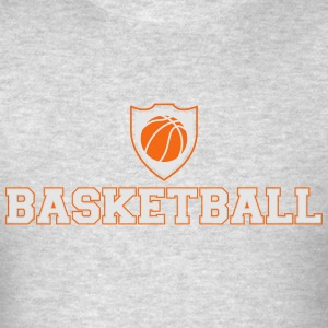 Basketball shield Hoodies - Men's T-Shirt