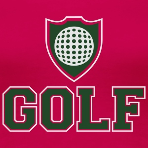 Golf and shield Tanks - Women's Premium T-Shirt