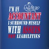 Accountant with assets Mugs & Drinkware - Full Color Mug