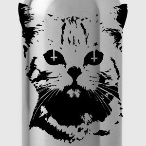 Evil Cat T-Shirts - Water Bottle