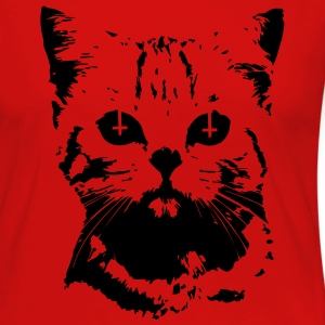 Evil Cat T-Shirts - Women's Premium Long Sleeve T-Shirt