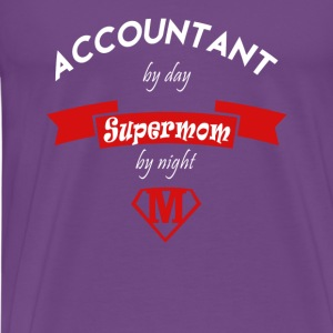 Accountant supermom Tanks - Men's Premium T-Shirt