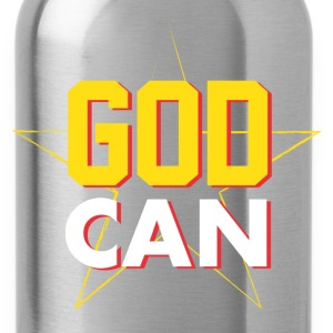 Men > T-Shirts GOD CAN - Water Bottle